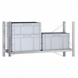 META Přídavná police pro regály CLIP, 230 kg, 1300x400 mm
