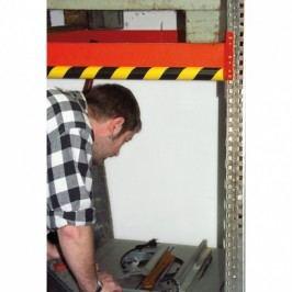 META Varovný a ochranný profil na nosníky, 1 m