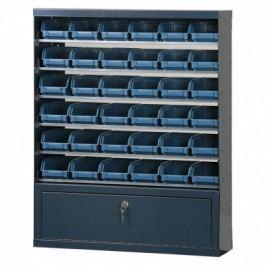 Artplast Skříňky s plastovými boxy a přihrádkou, 36 boxů