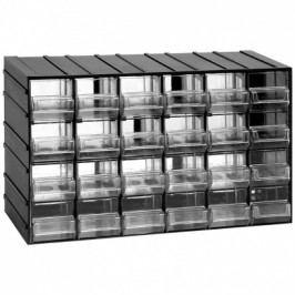 Artplast Modulová skříňka se zásuvkami, 382x148x230 mm, 24 zásuvek