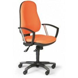 Kancelářská židle DERBY, oranžová