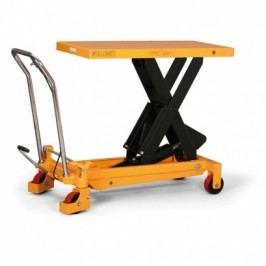 Hydraulický zvedací stůl, nosnost 750 kg, zdvih 1000 mm