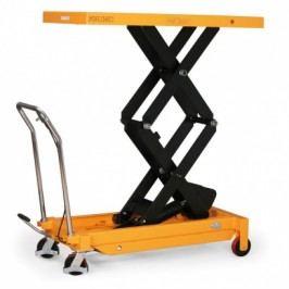 Hydraulický zvedací stůl, nosnost 150 kg, zdvih 1430 mm