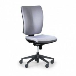 Antares Kancelářská židle Leon PLUS, šedá - bez područek