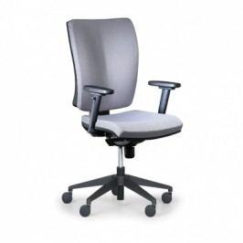 Antares Kancelářská židle Leon PLUS, šedá - s područkami