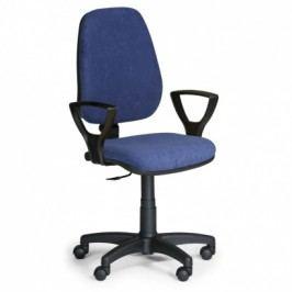 EUROSEAT Kancelářská židle COMFORT PK s područkami - modrá