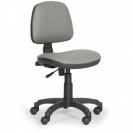 EUROSEAT Pracovní židle Milano bez područek - permanentní kontakt, šedá