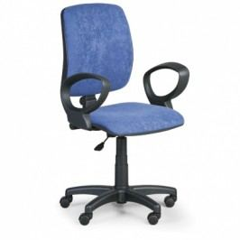 EUROSEAT Kancelářská židle TORINO II s područkami - modrá