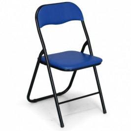 Skládací konferenční židle BRIEFING 4+2 ZDARMA, modrá