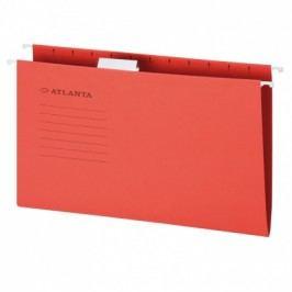 Závěsné desky A4, červené, 25 ks