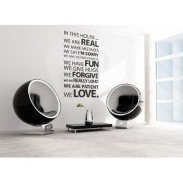 Vinylová samolepka na zeď, Real