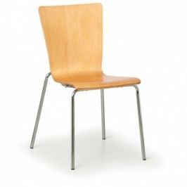 Dřevěná židle CALGARY 3+1 ZDARMA, přírodní