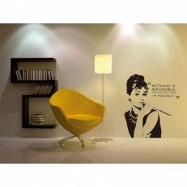 Vinylová samolepka na zeď, Audrey Hepburn