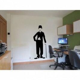 Vinylová samolepka na zeď, Chaplin