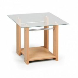 Konfereční stolek se sklem WOODGLASS, malý