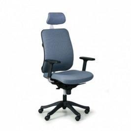 Kancelářská židle Bruggy, tmavě šedá látka
