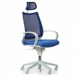 Kancelářská židle Futura, modrá/bílá
