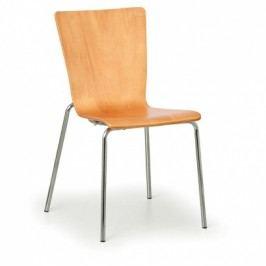 Dřevěná židle CALGARY, třešeň - nosnost 110 kg