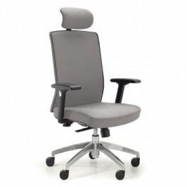 Kancelářská židle Alta F, šedá
