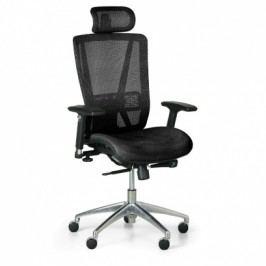Kancelářská židle Lester MF, černá