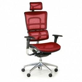 Multifunkční kancelářská židle WINSTON SAA, červená