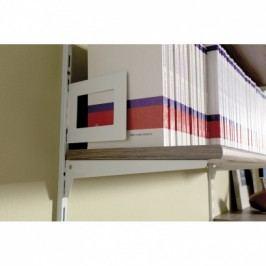Element System Závěsná policová zábrana, bílá