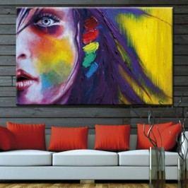 Obraz na plátně, Žena tvář