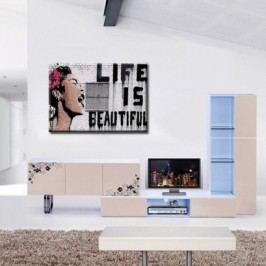 Obraz na plátně, Life is beautiful