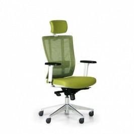 Kancelářská židle Metrim, zelená