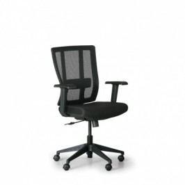 Kancelářská židle Met, černá
