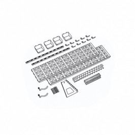 Element System Panel na nářadí a boxy, sada s 19 držáky na nářadí a 4 boxy