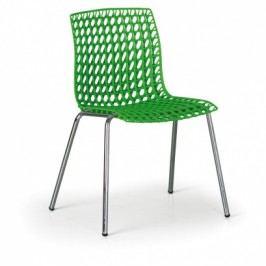 Židle Perfo, zelená