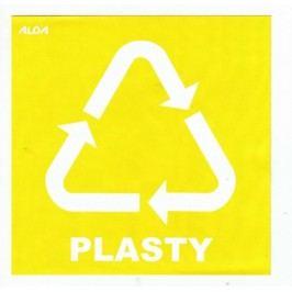 Samolepky - tříděný odpad