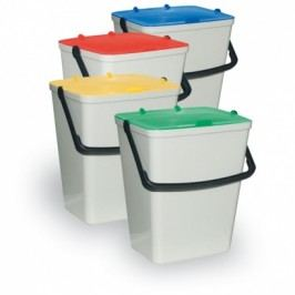 Artplast Sada plastových odpadkových košů 4 x 15 l