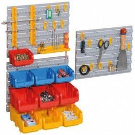 Allit Plastové stěny s boxy a držáky nářadí