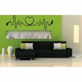 Vinylová samolepka na zeď, srdce