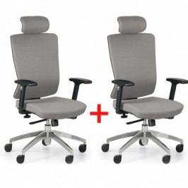 Kancelářská židle Ned F 1+1 ZDARMA