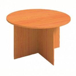 Jednací stůl PRIMO, průměr 1200 mm, kulatý, buk