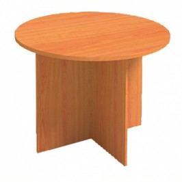 Jednací stůl PRIMO, průměr 1000 mm, kulatý, buk