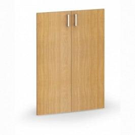 Dveře - pár, 793x18x1102 mm, šedá