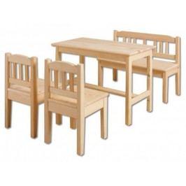 Dřevěná dětská sestava AD 240 - 242
