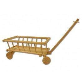Dřevěný dětský trakař AD 261