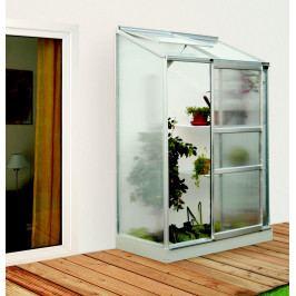 LANIT PLAST, s.r.o. skleník IDA 900 stříbrný PC 4 mm, rozměr 69 x 131 cm, DOPRAVA ZDARMA