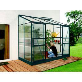 LANIT PLAST, s.r.o. skleník IDA 3300 zelený PC 4 mm, rozměr 130 x 255 cm, DOPRAVA ZDARMA
