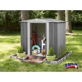 LANIT PLAST, s.r.o. zahradní domek ARROW DRESDEN 65 šedý