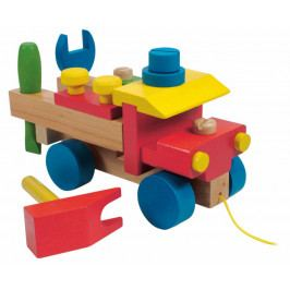Woody Hračka Woody Montážní auto s provázkem