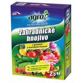 Agro  Hnojivo Agro  zahradnické 2.5kg