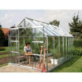 LANIT PLAST, s.r.o. skleník VITAVIA URANUS 11500 matné sklo 4 mm stříbrný