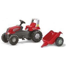Rolly Toys Hračka Rolly Toys Šlapací traktor Rolly Juniors vlečkou červený akční