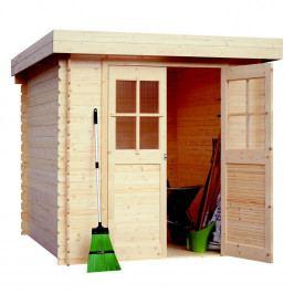 LANIT PLAST, s.r.o. set domek s podlahou LANITPLAST ADELA 200 x 200 cm